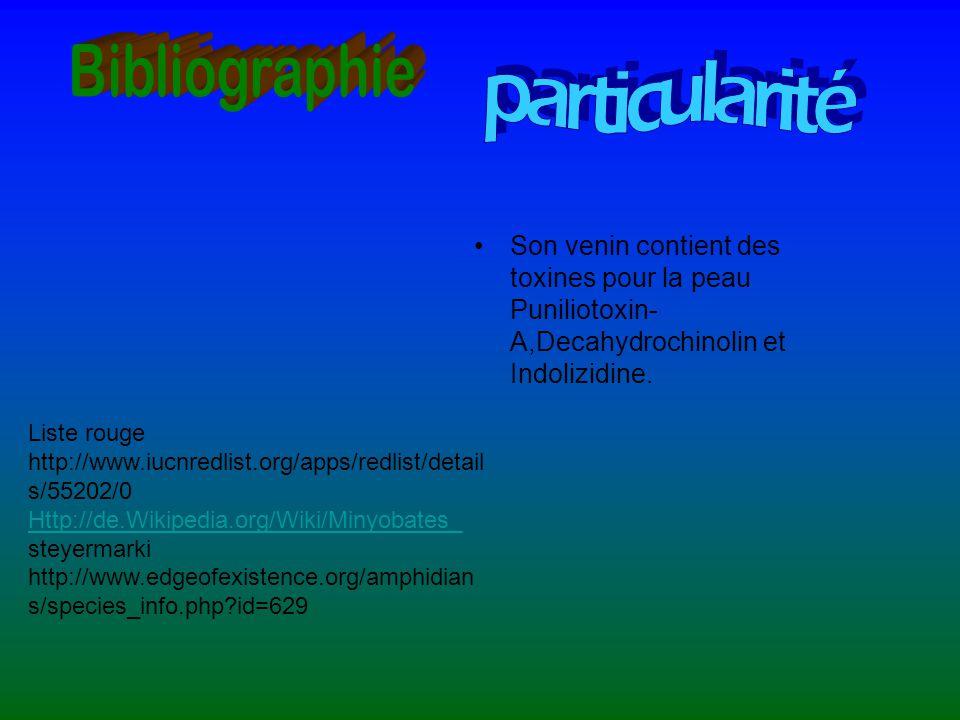 Bibliographie particularité