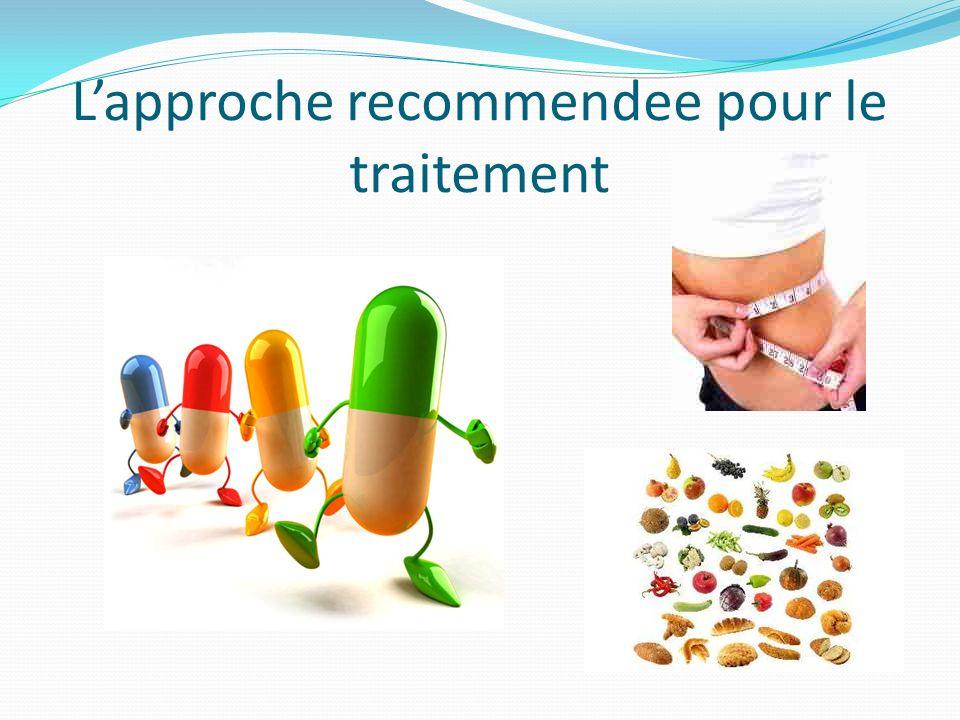 L'approche recommendee pour le traitement