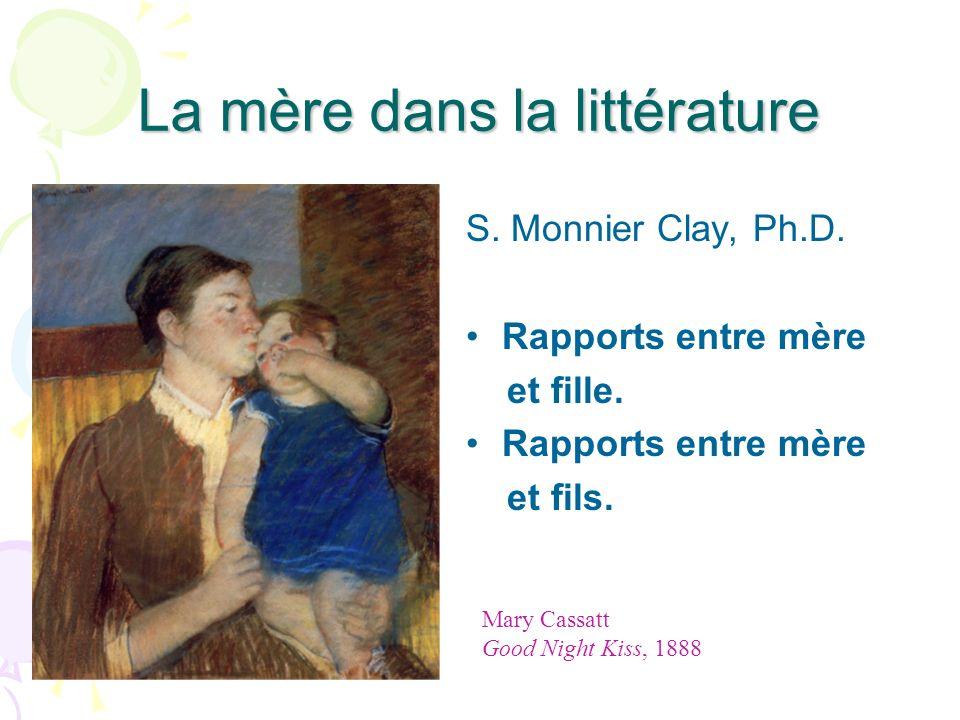 La mère dans la littérature