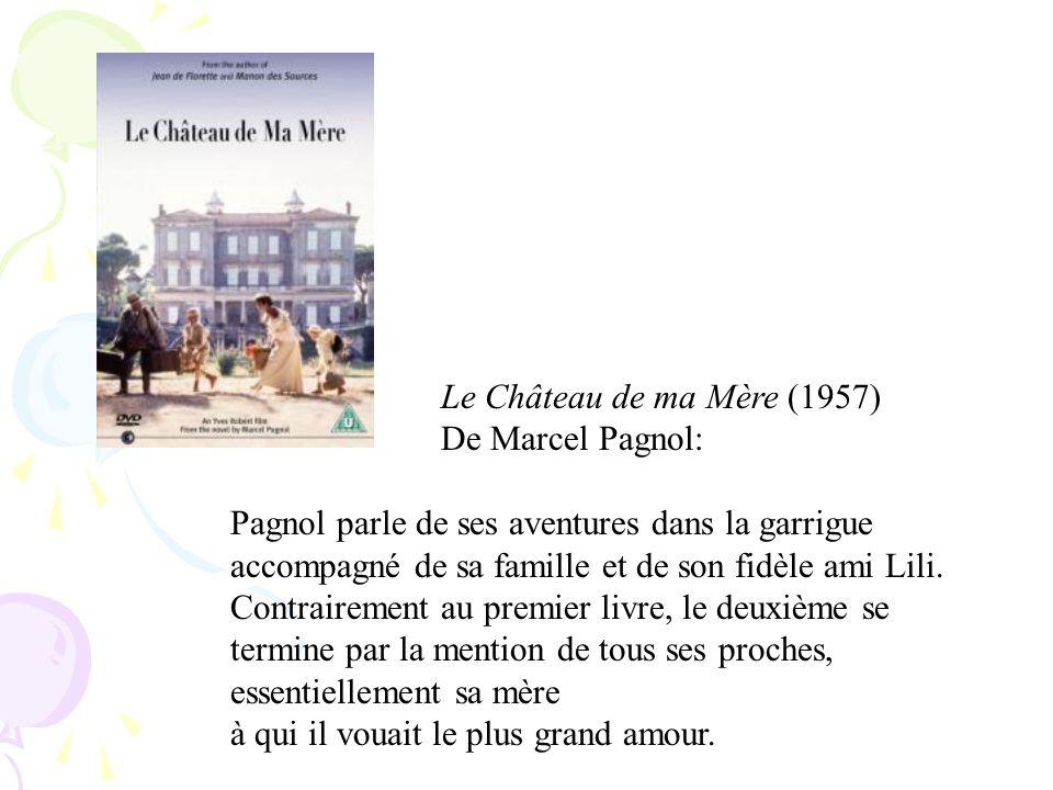 Le Château de ma Mère (1957) De Marcel Pagnol: