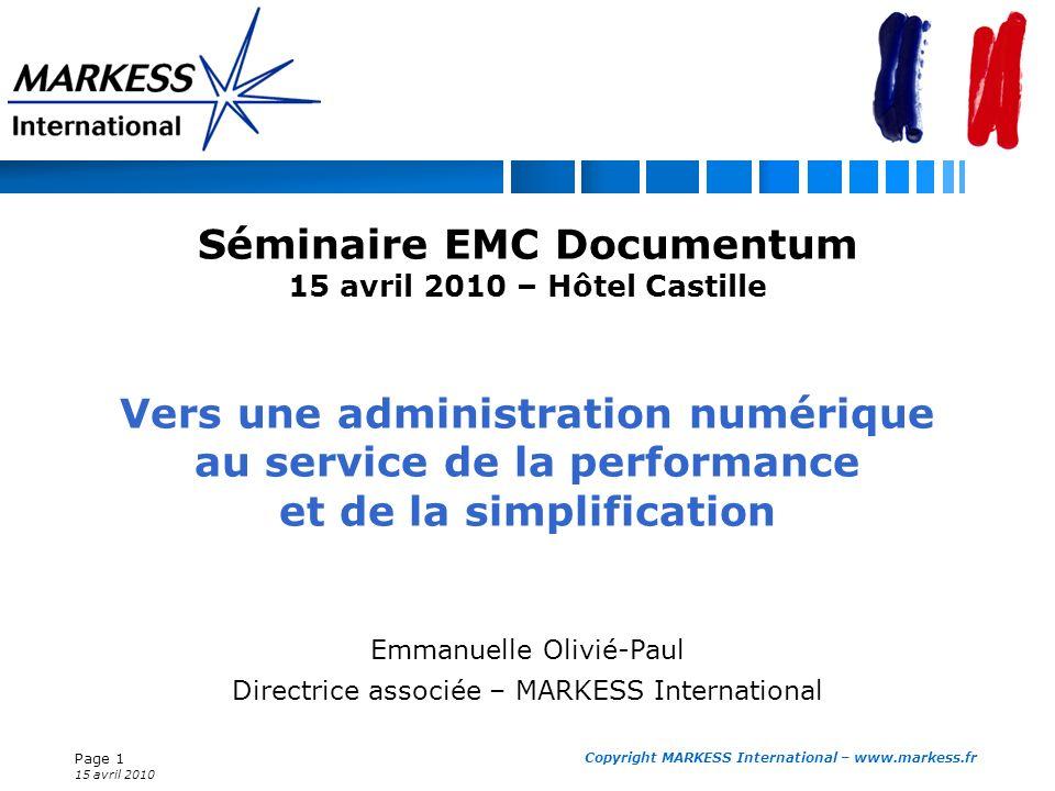 Séminaire EMC Documentum