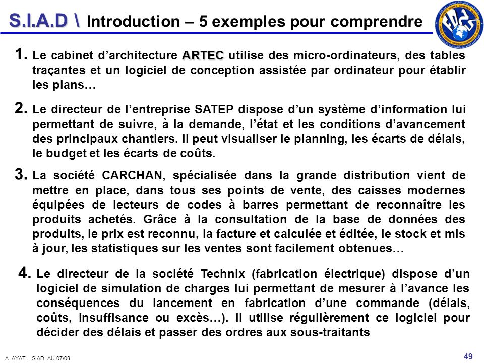 Introduction – 5 exemples pour comprendre
