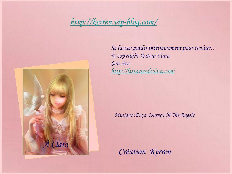 http://kerren.vip-blog.com/ À Clara Création Kerren