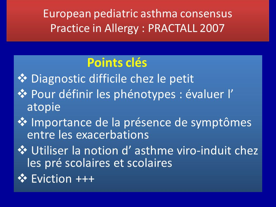 Diagnostic difficile chez le petit