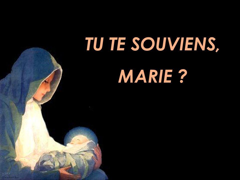 TU TE SOUVIENS, MARIE
