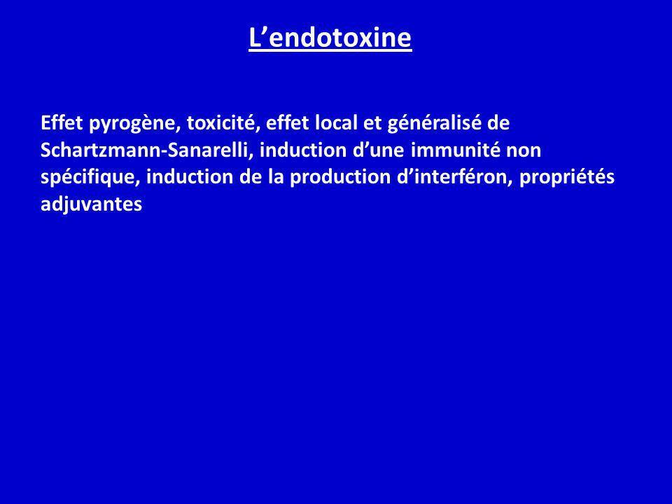 L'endotoxine
