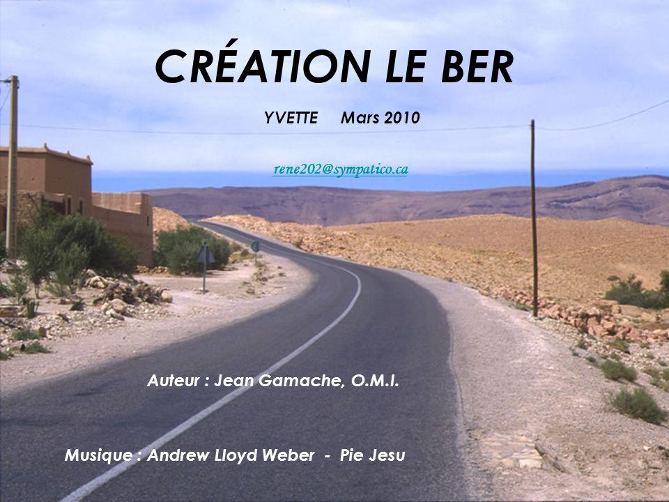Auteur : Jean Gamache, O.M.I. Musique : Andrew Lloyd Weber - Pie Jesu