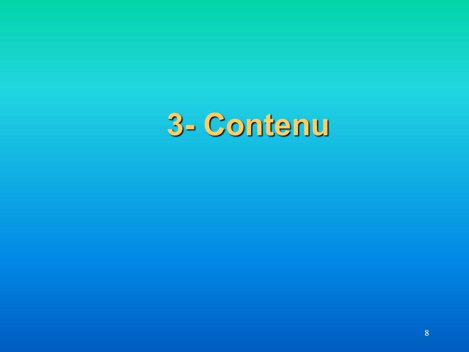 3- Contenu 8