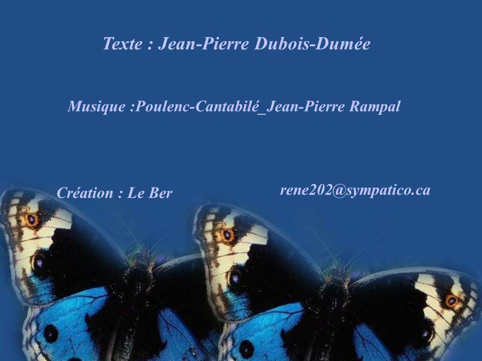 Texte : Jean-Pierre Dubois-Dumée