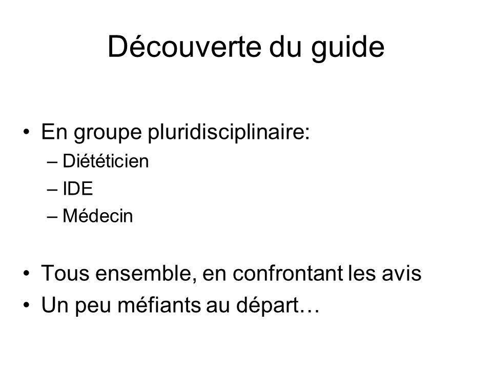 Découverte du guide En groupe pluridisciplinaire: