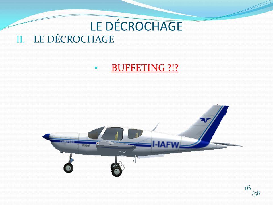 LE DÉCROCHAGE LE DÉCROCHAGE BUFFETING ! /58