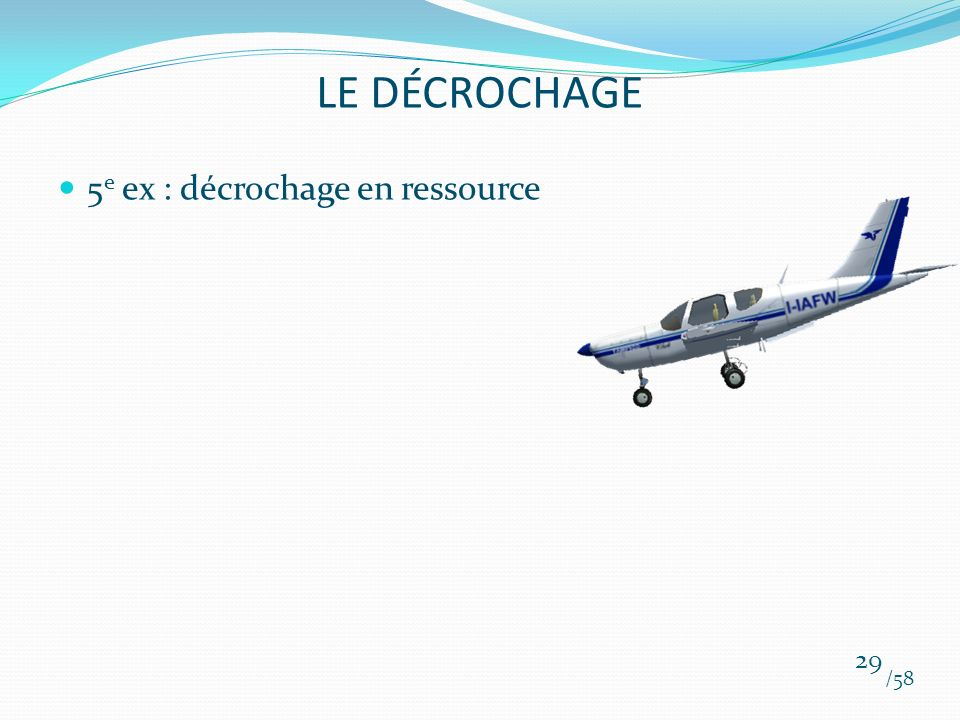 LE DÉCROCHAGE 5e ex : décrochage en ressource /58