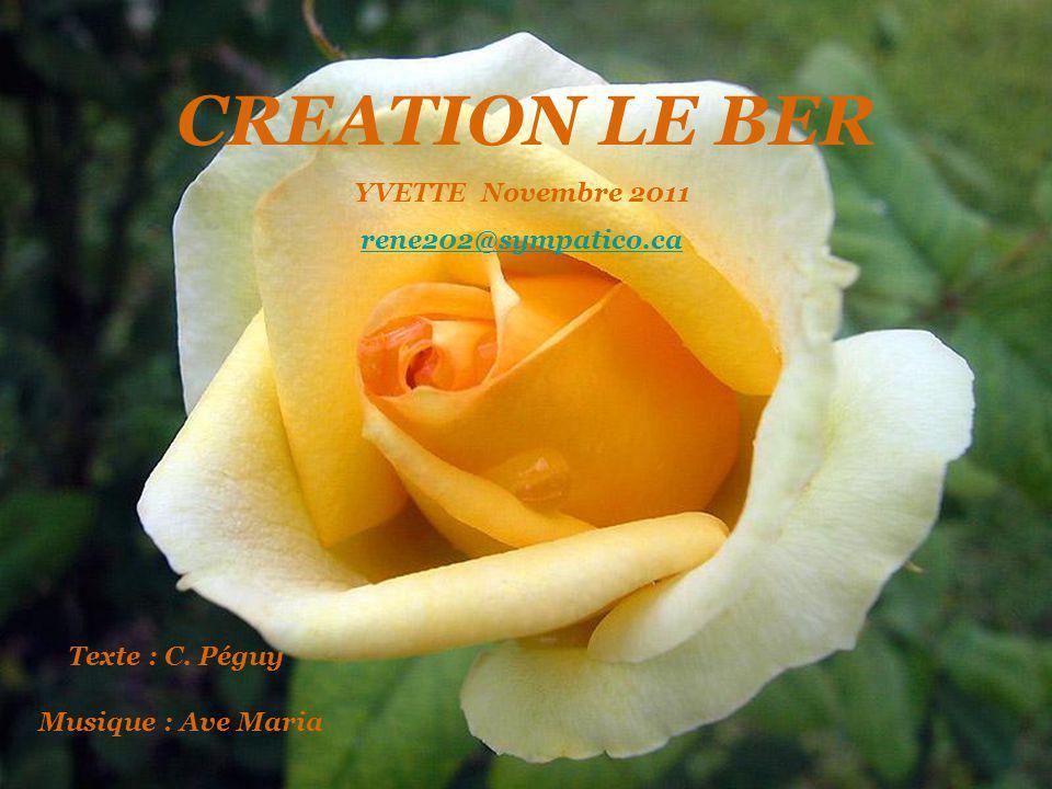 CREATION LE BER YVETTE Novembre 2011 rene202@sympatico.ca