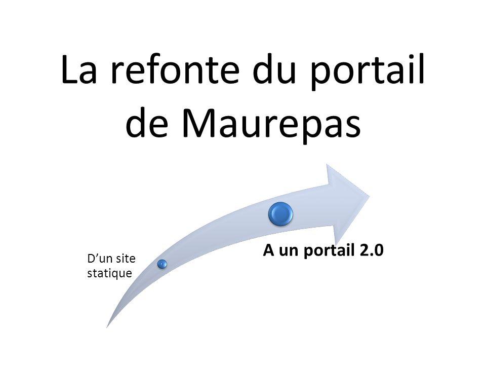 La refonte du portail de Maurepas