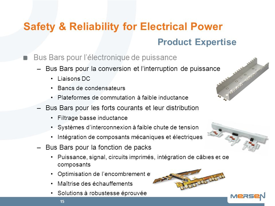 Safety & Reliability for Electrical Power
