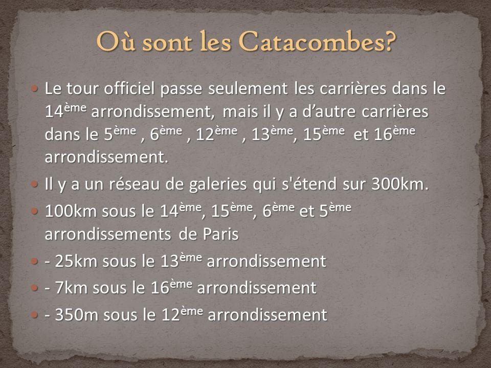 Où sont les Catacombes