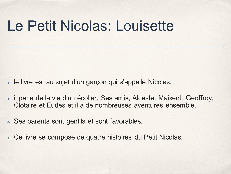 Le Petit Nicolas: Louisette