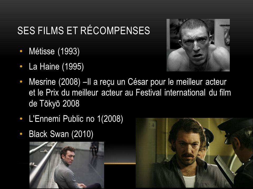 Ses Films et Récompenses