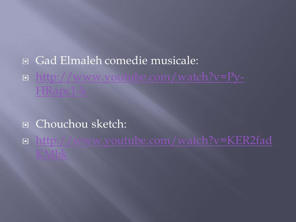 Gad Elmaleh comedie musicale: