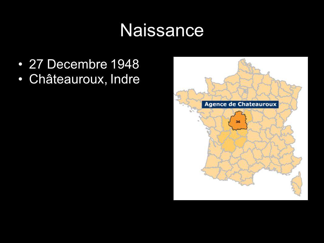 27 Decembre 1948 Châteauroux, Indre