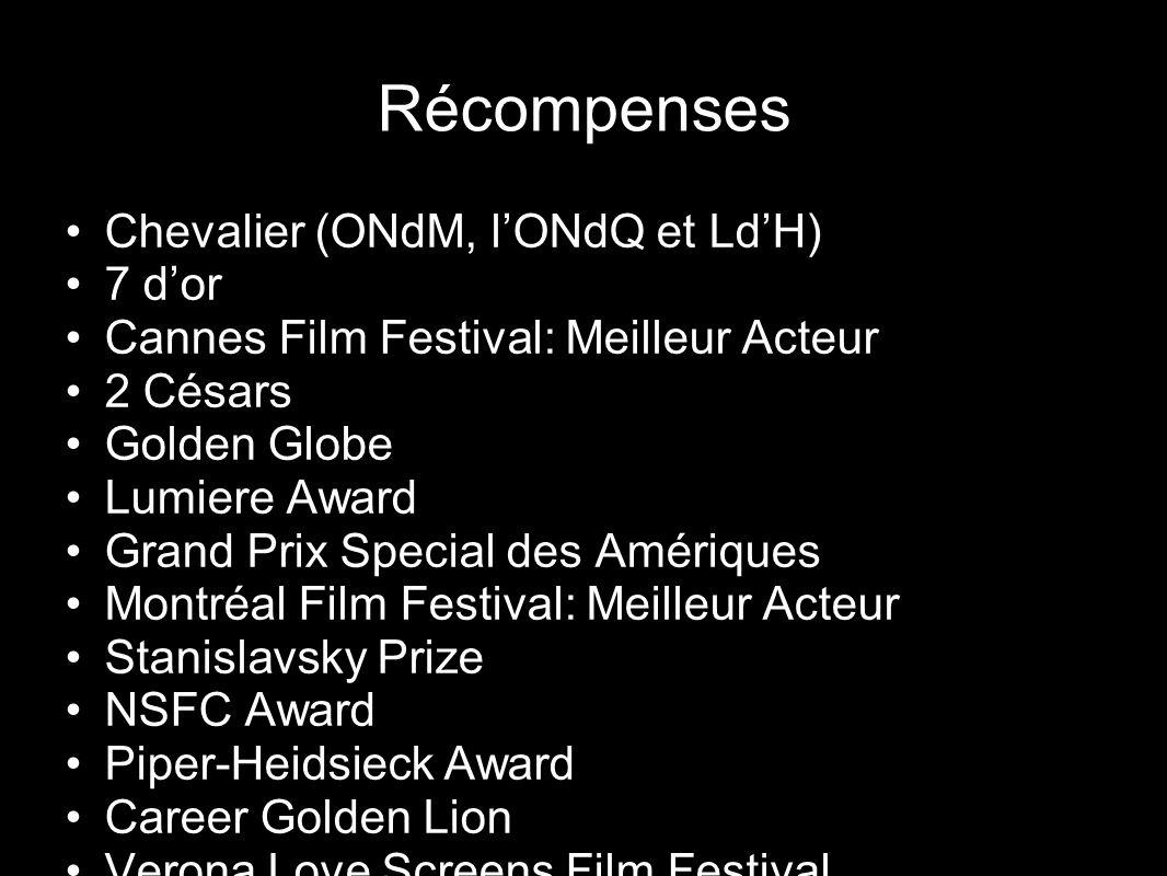 Récompenses Chevalier (ONdM, l'ONdQ et Ld'H) 7 d'or