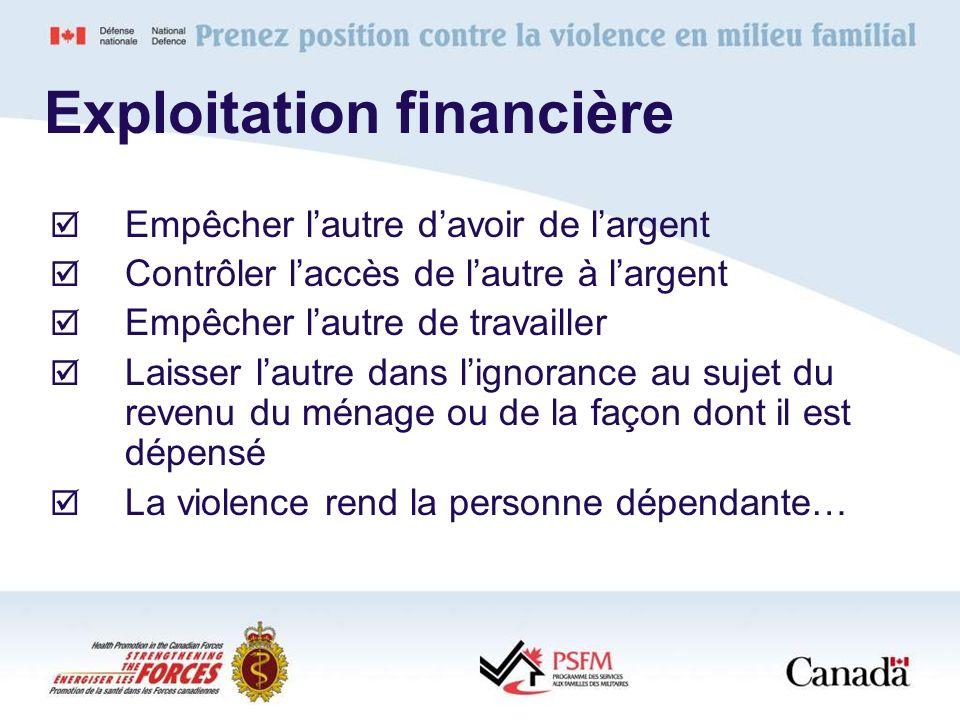 Exploitation financière
