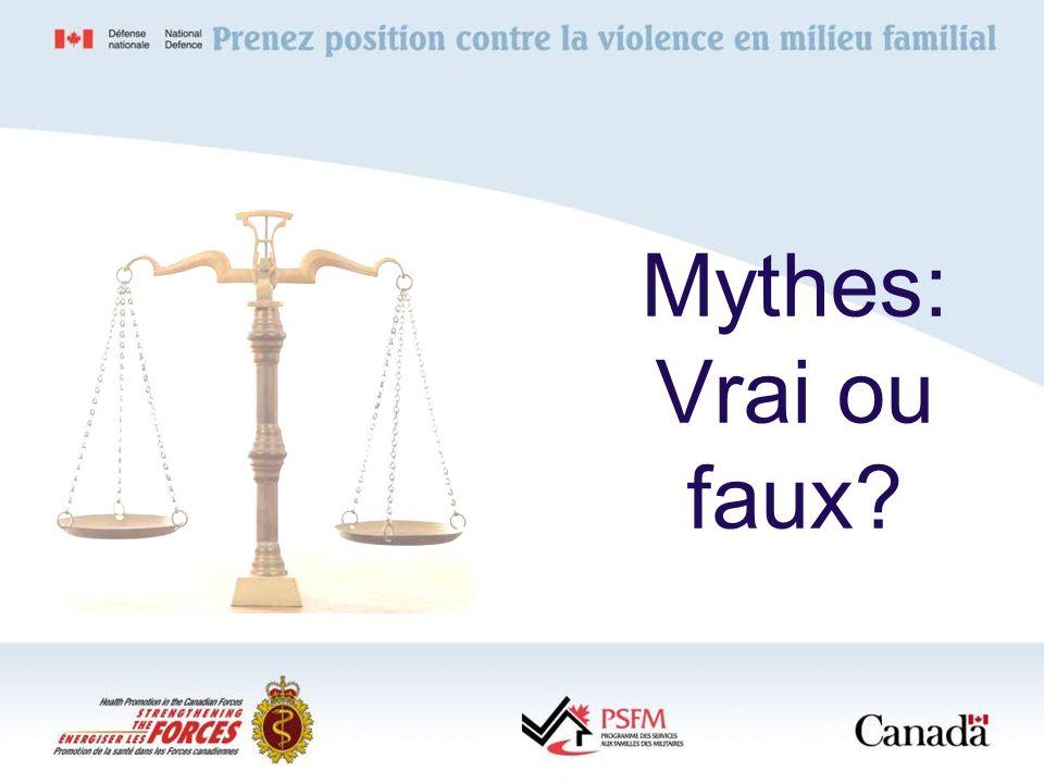 Mythes: Vrai ou faux