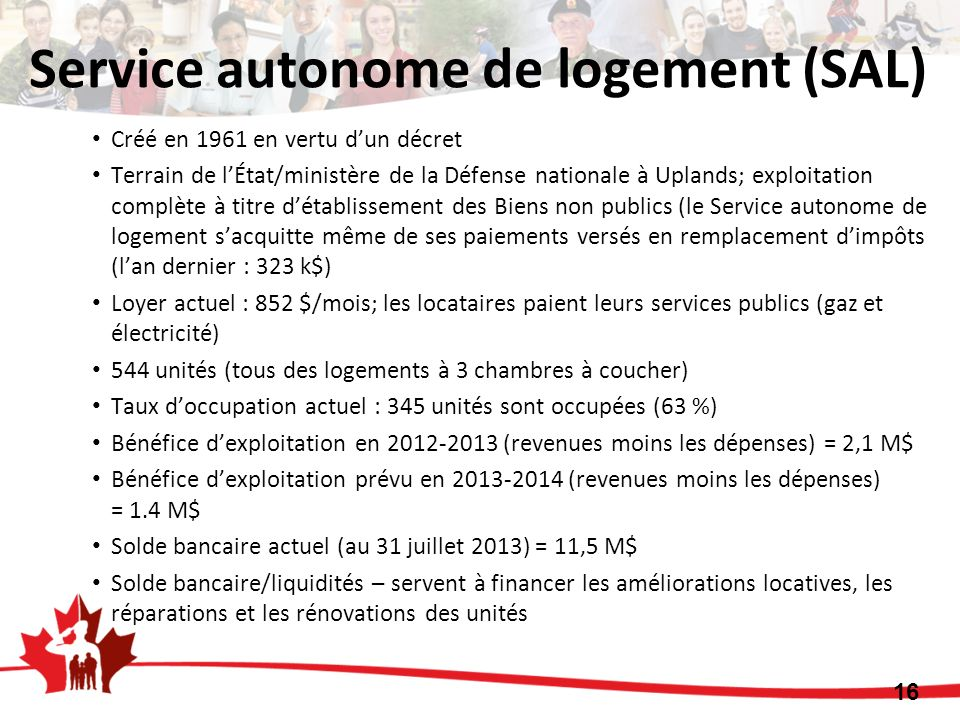Service autonome de logement (SAL)