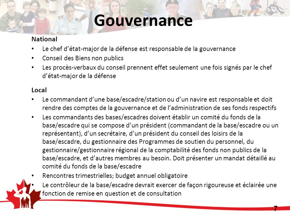 Gouvernance National Local 7