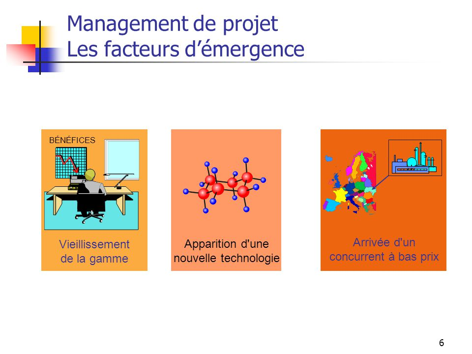 Management de projet Les facteurs d'émergence