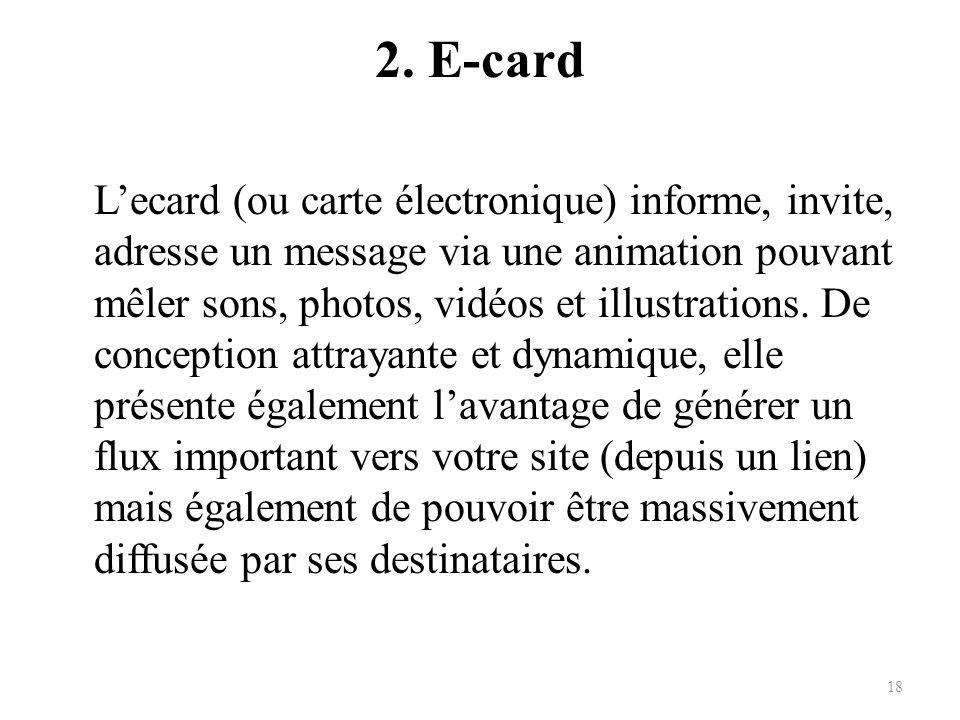 2. E-card