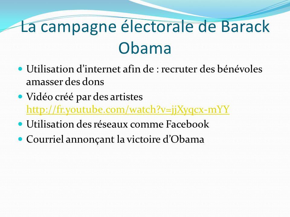 La campagne électorale de Barack Obama
