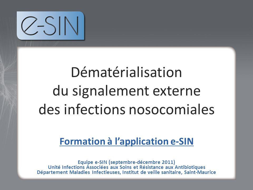 du signalement externe des infections nosocomiales