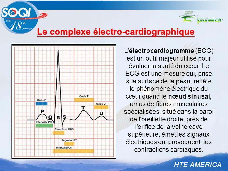 Le complexe électro-cardiographique