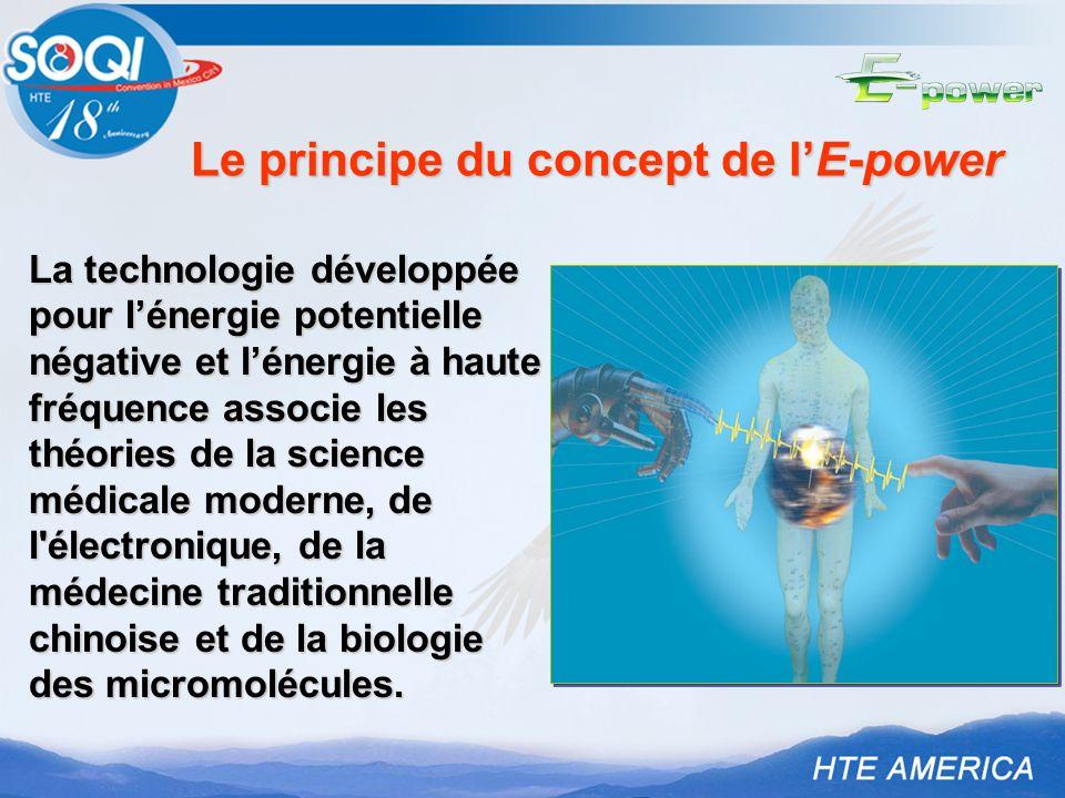 Le principe du concept de l'E-power