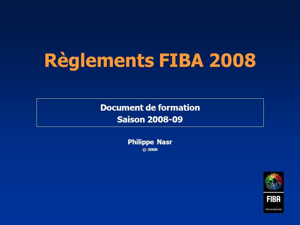 Document de formation Saison 2008-09 Philippe Nasr © 2008