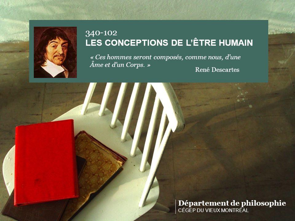 LES CONCEPTIONS DE L'ÊTRE HUMAIN