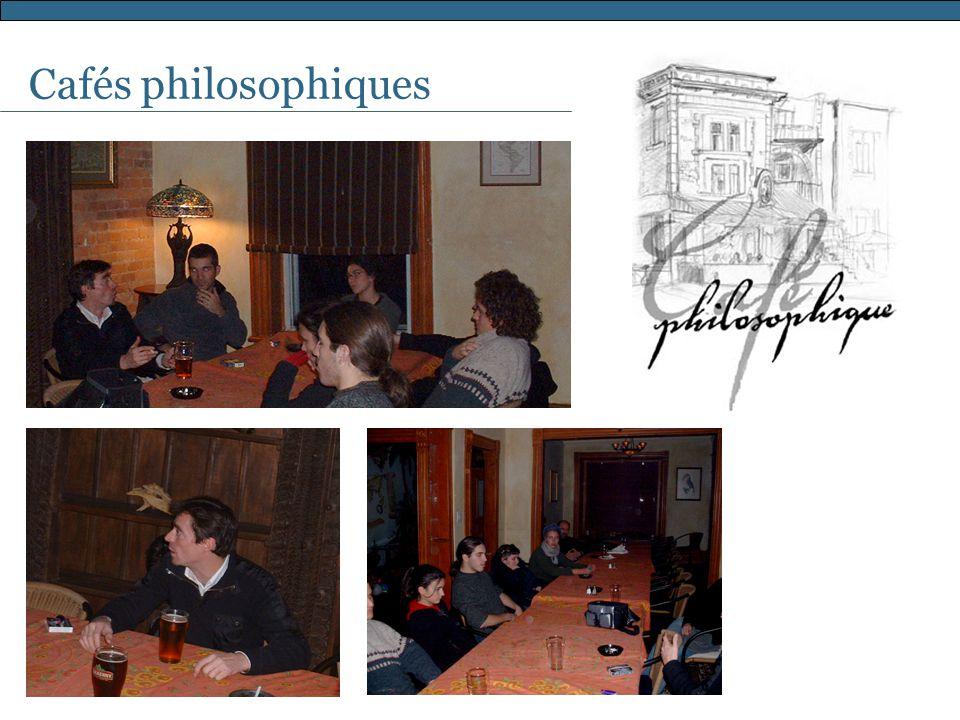 Cafés philosophiques