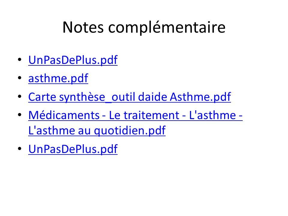 Notes complémentaire UnPasDePlus.pdf asthme.pdf