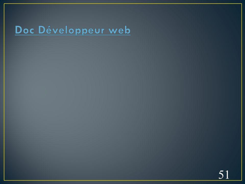 Doc Développeur web