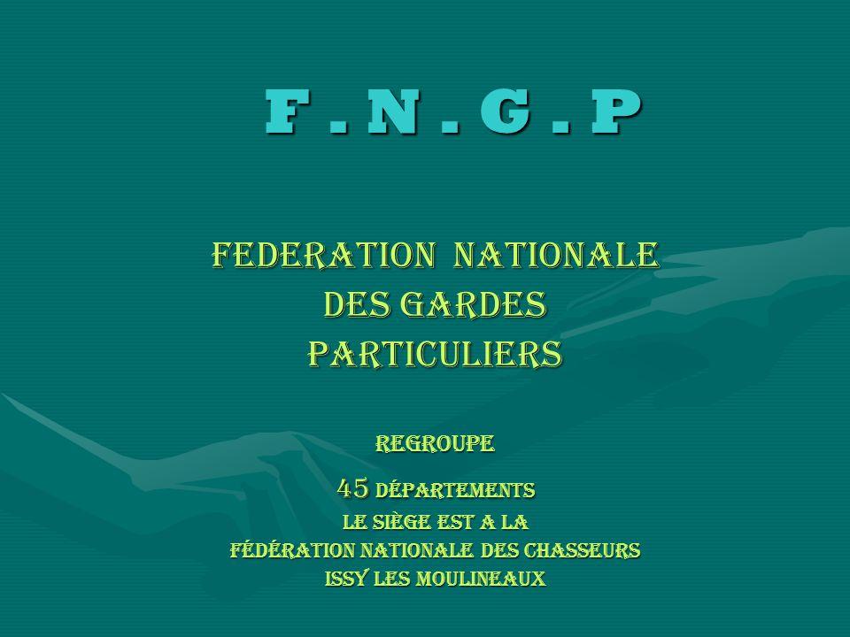 Fédération Nationale des chasseurs