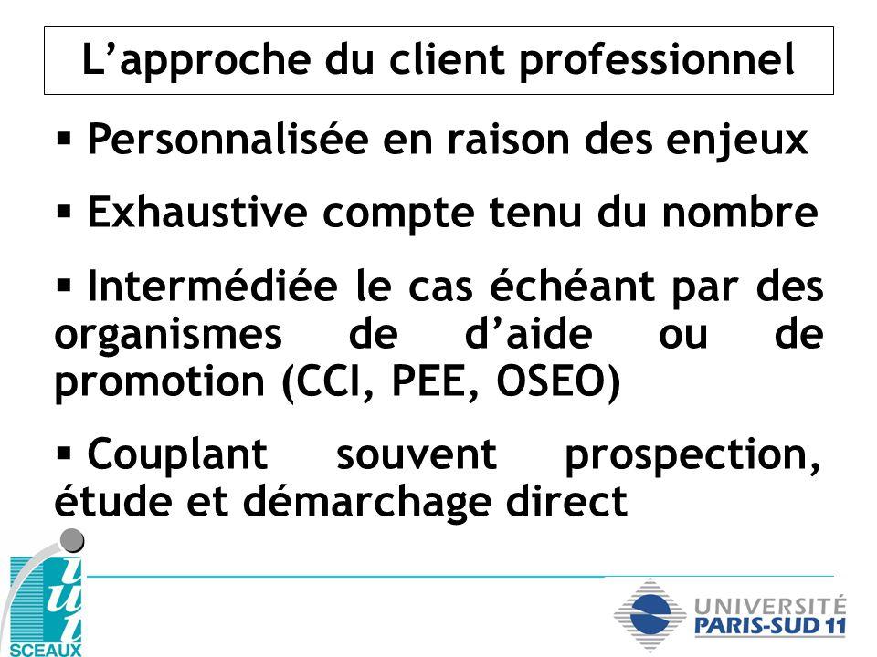 L'approche du client professionnel