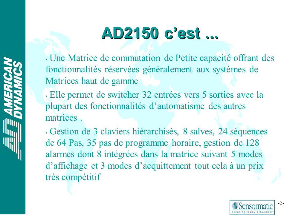 AD2150 c'est ...