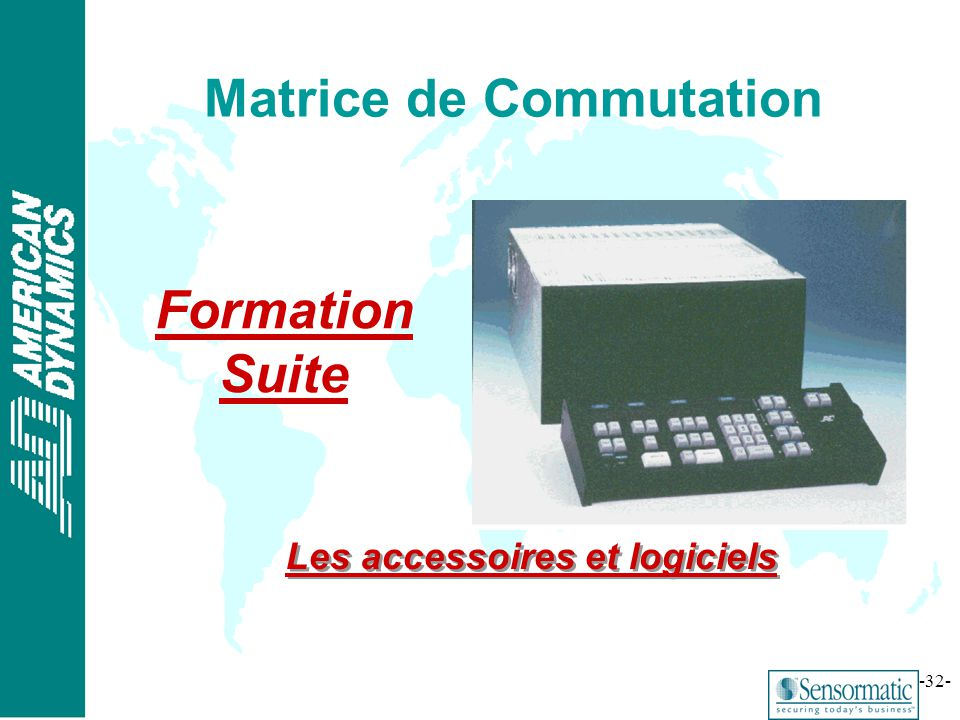 Matrice de Commutation