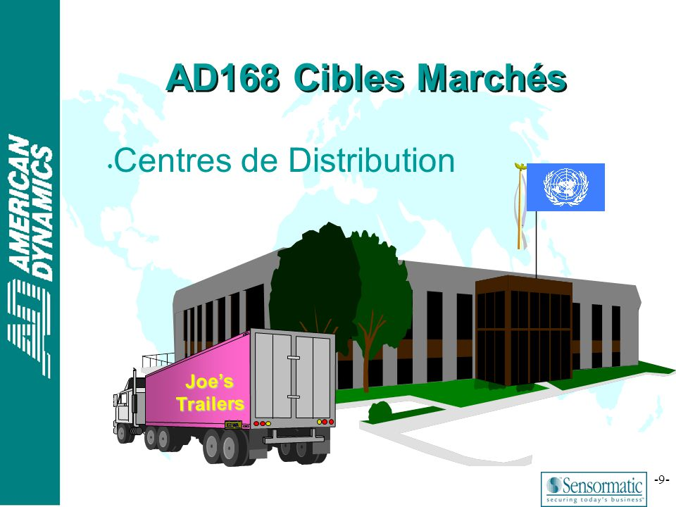 AD168 Cibles Marchés Centres de Distribution Joe's Trailers
