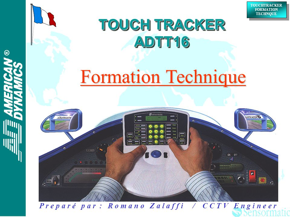Formation Technique TOUCH TRACKER ADTT16