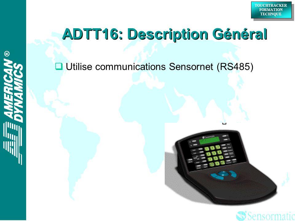 ADTT16: Description Général