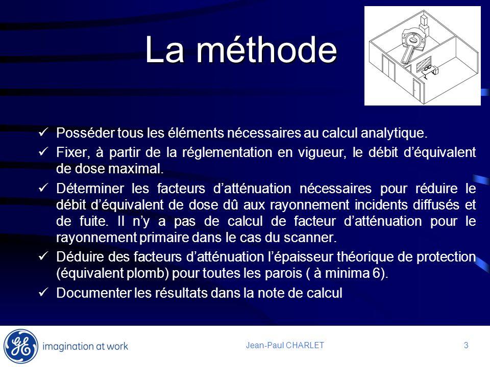 La méthode Posséder tous les éléments nécessaires au calcul analytique.