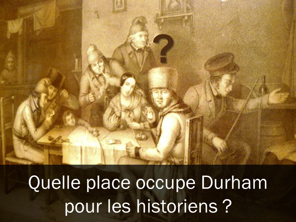 Quelle place occupe Durham