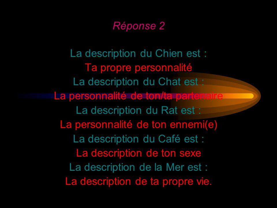 La description du Chien est : Ta propre personnalité